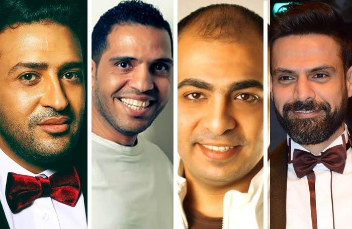أمير طعيمة ومحمد عاطف ومحمد رفاعي وتامر حسين