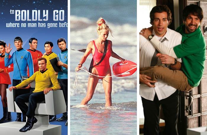 Chuck و Baywatch و Star Trek