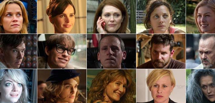 المرشحون لجوائز الأوسكار 2015