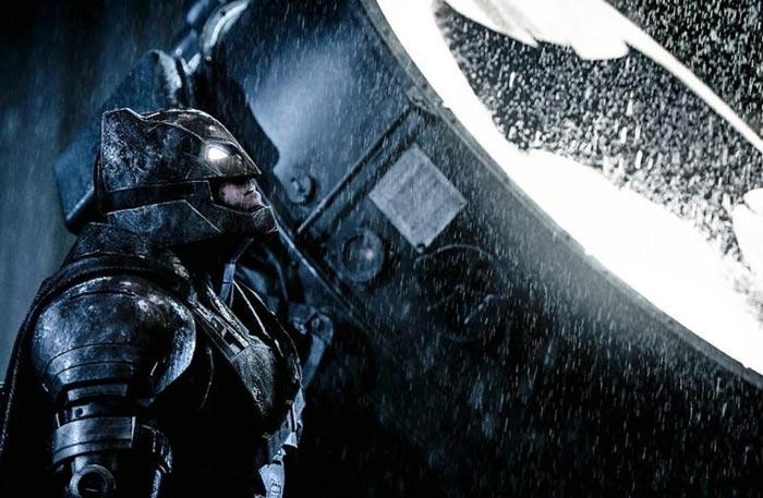 بن أفليك في Batman v Superman:Dawn of Justice
