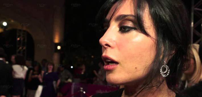 المخرجة نادين لبكي في مهرجان دبي السينمائي