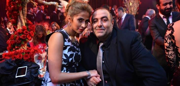 روبي وسامح عبد العزيز في حفل زفاف كريم السبكي