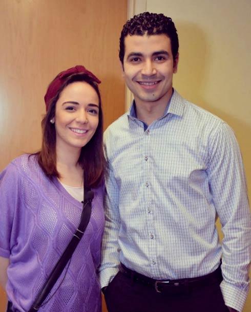 محمد أنور وسارة درزاوي
