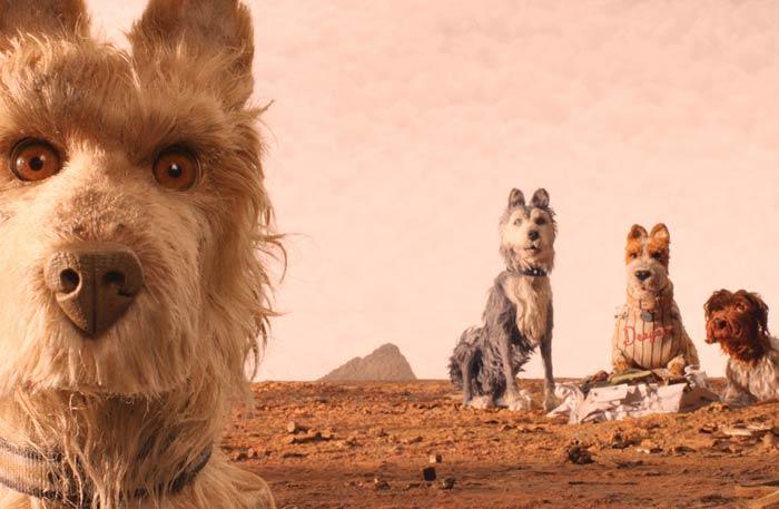 """لقطة من فيلم """"جزيرة الكلاب"""""""