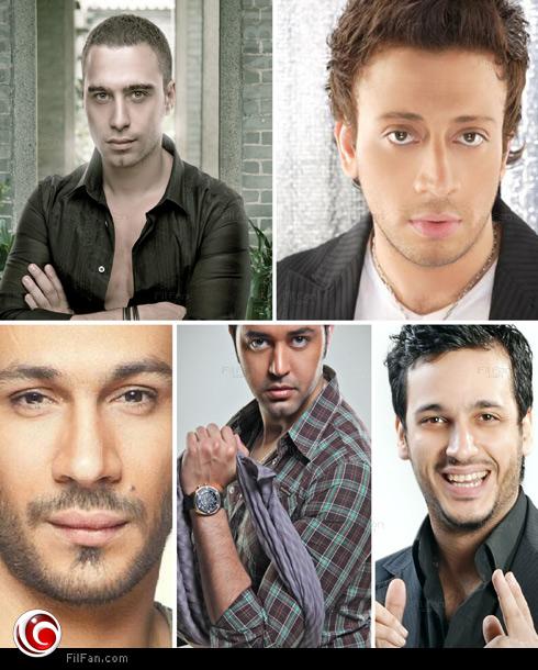 حسام حبيب، لؤي، إيساف، حاتم فهمي، ومحمد عطية
