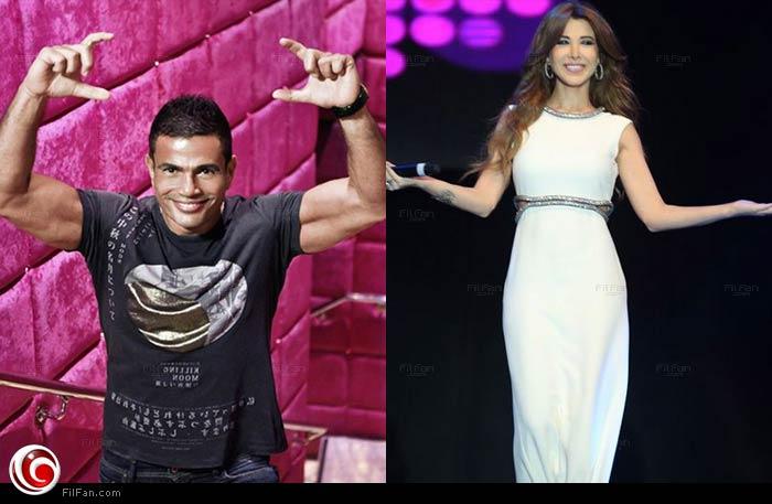 كيف عبّرت نانسي عجرم عن فخرها بلقاء عمرو دياب؟