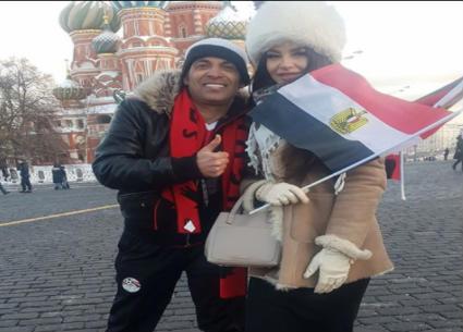 8 صور- سعد الصغير والراقصة جوهرة ومهيب عبد الهادي في روسيا.. تحدي مصري روسي