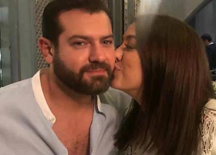 20 صورة تستعرض اللحظات الرومانسية بين عمرو يوسف وكندة علوش