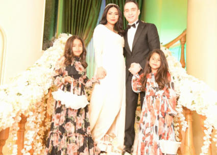 ? صور تنشر للمرة الأولى من حفل زفاف شيرين عبد الوهاب وحسام حبيب