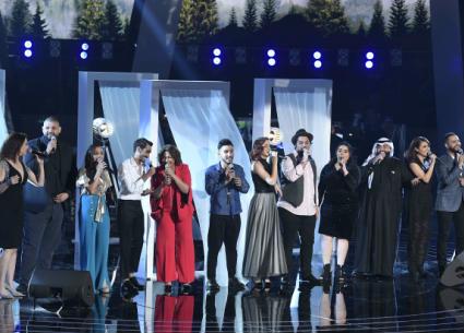 10 صور- لحظات خاصة لنجوم المرحلة قبل النهائية في The Voice