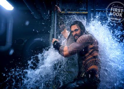 """الصور الأولى لأبطال الفيلم المنتظر Aquaman.. ظهور """"بلاك مانتا"""""""