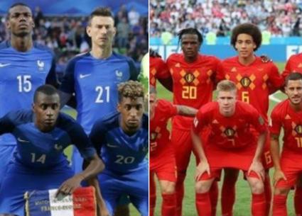 تعرف على القنوات الناقلة لمباراة فرنسا وبلجيكا في نصف نهائي كأس العالم