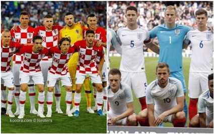 تعرف على القنوات الناقلة لمباراة إنجلترا وكرواتيا في نصف نهائي كأس العالم