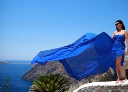 10 صور- غادة عبد الرازق تستمتع بوقتها في اليونان