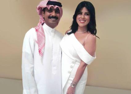 #شرطة_الموضة: هذا سعر فستان العروس نور الشيخ في عقد قرانها... هل يليق بها؟