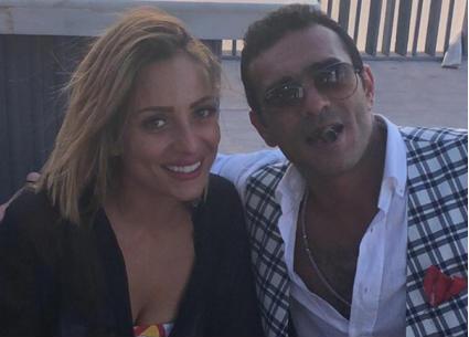 بالفيديو- زوج منة حسين فهمي يوجه هذه الكلمات لريم البارودي في حفل زفافه