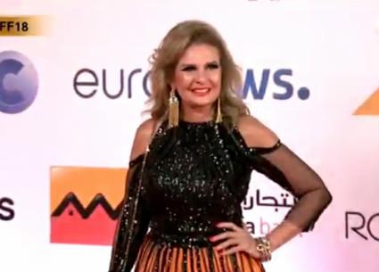 بالصور- إطلالات يسرا ونادية الجندي ودرة وبوسي شلبي في حفل عشاء مهرجان الجونة السينمائي