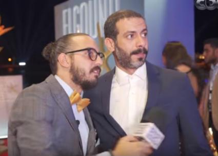 بالفيديو- محمد فراج ومروان يونس يدبران مقلبا لإياد نصار بختام مهرجان الجونة