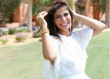 """صورة- ظهور نادر لـ""""لي لي"""" ابنة منى زكي وأحمد حلمي"""