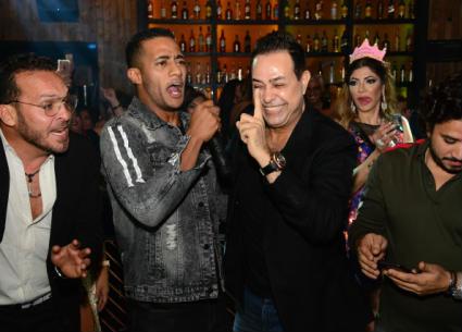 منافسة في الغناء بين رمضان وحكيم وسامو زين في عيد ميلاد داليا مطر