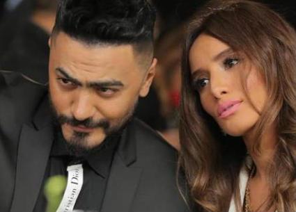 """بالصور- تامر حسني يعلن عن فيلمه """"حمزة"""" مع زينة.. تعرف على تفاصيله"""