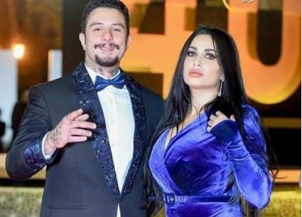 صورة- هكذا عبر أحمد الفيشاوي عن حبه لزوجته