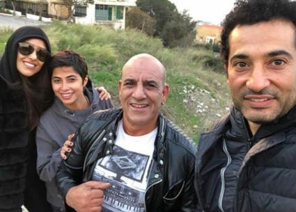 """12 صورة من كواليس تصوير فيلم """"حملة فرعون"""" في لبنان"""
