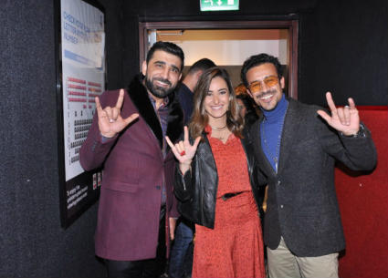 """51 صورة- أبطال """"122"""" يحتفلون بالعرض الخاص للفيلم.. زوجة أحمد الفيشاوي ترافقه"""