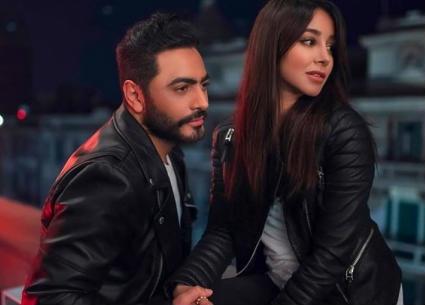 """بالفيديو- تامر حسنى ملاكما يخسر حبيبته في """"ناسيني ليه"""".. """"كوبليه"""" جديد في الأغنية"""