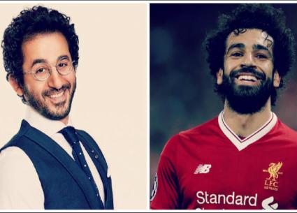 علي جابر يخلط بين صورة لمحمد صلاح وأحمد حلمي!