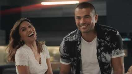 """بالفيديو- رقص عمرو دياب ودينا الشربيني على أغنية """"يوم تلات"""""""