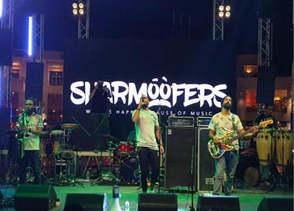 شارموفرز يحيون حفل في كايرو فيستفال سيتي