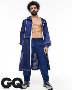كيف ظهر محمد صلاح كعارض أزياء؟