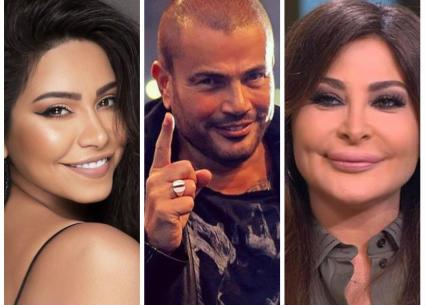 """بالفيديو- هؤلاء غنوا للـ""""مرايا"""".. عمرو دياب يكسر القاعدة"""