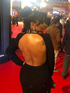 الفساتين الأكثر جرأة في حفل افتتاح مهرجان القاهرة السينمائي 41
