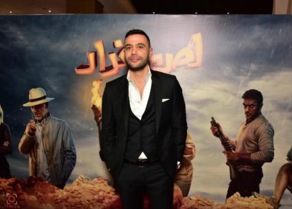 """زوجة محمد إمام وفنانة معتزلة.. أبرز حضور العرض الخاص لـ""""لص بغداد"""""""