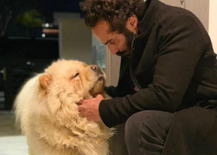 صورة- أحمد فهمي ينضم لحملة شيرين رضا للتوعية بحقوق الحيوان