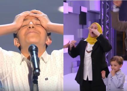 بالفيديو- بسبب طفل مصري... زغاريد وبكاء في The Voice Kids