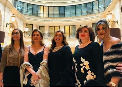 يسرا وليلى علوي وإلهام شاهين في افتتاح أيام القاهرة في باريس