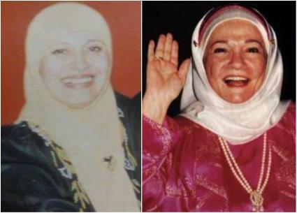 صور نادرة- شادية في زفاف ابنة مديحة كامل