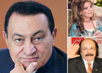 مشاهير جمعتهم علاقة قوية بحسني مبارك..ممثل أطلق عليه مضحكاتي الرئيس