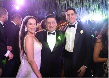 حفل زفاف ابنة مدحت شلبي وشيرين وجدي