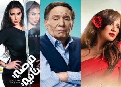 بوسترات وشخصيات مسلسلات رمضان 2020