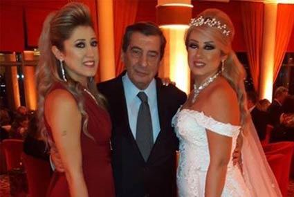 11 صورة من حفل زفاف مصطفى فهمي وفاتن موسى