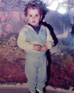 عائشة بن أحمد في طفولتها