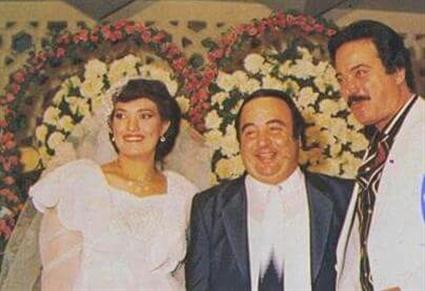 أقام حفل زفاف بسيط بأقل التكاليف وأخبر سعيد صالح أنه لن يدعو أي فنان، لكن صالح ذهب برفقة كل الفنانين ليحتفلوا معه