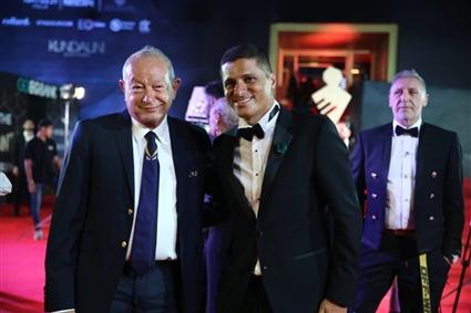 عمرو منسي ونجيب ساويرس