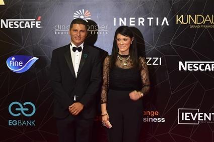 وزيرة التعاون الدولي رانيا المشاط وعمرو منسي