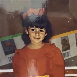 هدى المفتي في طفولتها