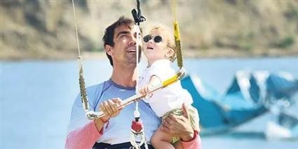 إبراهيم تشيليكول وابنه